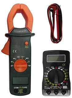 Coamer MT-30 - Kit multímetro digital y pinza amperimétrica #Coamer #multímetro #digital #pinza #amperimétrica