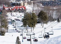 Boyne Highlands- More memories of when I was young. Skiing the Highlands and Nubs Nob across the way!