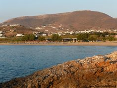 Parasporos Beach, Cyclades, Greece www. Paros Beaches, Paros Island, Car Rental, Greek Islands, Greece, Places To Visit, River, Outdoor, Greek Isles