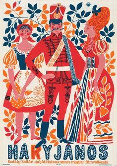 Háry János  Hungarian folk opera poster