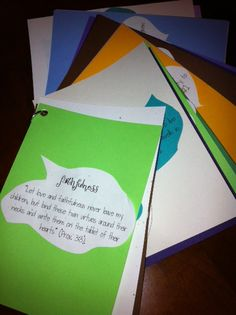Praying for your kids- Prayer cards- Pray scripture nightly WITH them FOR them