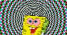 Folgt fr mehr Spongebob killt co. Weed Wallpaper, Aesthetic Iphone Wallpaper, Cartoon Wallpaper, Marijuana Wallpaper, Psychedelic Art, Trippy Cartoon, Trippy Pictures, Trippy Drawings, Trippy Painting
