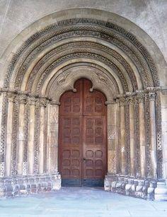 Doorway St. Jakobikirche in Coesfeld Germany