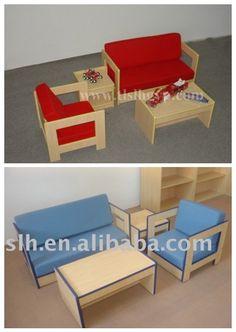 Los sillones de madera aunque no lo creas no son tal for Sillas para que los bebes aprendan a sentarse