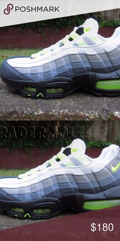 NEW WOMENS NIKE AIR MAX 95 NEON VOLT OG 100% Authentic and Brand New Never