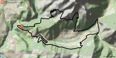 """[Isère] Les balcons de la cavale Superbe parcours, typé montagne """"all mountain"""" dans la première partie.  - Première partie : Siévoz - Valbonnais  Belle montée sous la cabane du Jas, (km 11,6) on descend à droite dans le vallon de la Teissonnière (superbe chemin fraîchement entretenu), on continue pour sortir sur la crête de Côte Belle... toujours aussi joli, on laisse le chemin qui plonge à droite (km 13,2) et on prend le petit sentier peu marqué à gauche, qui, par un bon coup de cul """"bien…"""