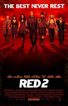 If you want to see a movie with bunch of olds going bonkers around tactical ammunition and WMD class weapons along with kicks and punches that break bones, Red 2 must be it. Anthony Hopkins gave a scaring performance as mad scientist and you all know what Bruce Willis is good at.