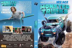 Monster Trucks (2016) DVD Custom Cover