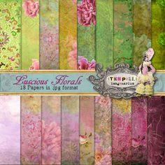 Deviant Scrap : itKuPiLLi Imagenarium Luscious Florals