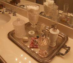 Artesanato Decor e Culinária: Idéias para banheiros Organizados e cheios de charme