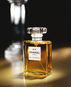 Chanel No. 5 - my all time favourite and so much so, I have a pin board just for everything Chanel No.5 :>
