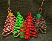 Christmas Trees sold by Captain Quackers Paracord. Shop more products from Captain Quackers Paracord on Storenvy, the home of independent small businesses all over the world. Handmade Christmas Decorations, Diy Christmas Gifts, Christmas Ornaments, Christmas Trees, Etsy Christmas, Christmas Lights, Paracord Projects, Macrame Projects, Paracord Ideas