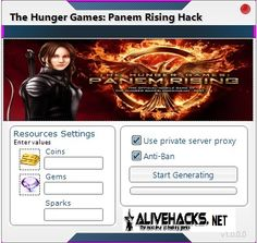 The-Hunger-Games-Panem-Rising-hack Private Server, Hunger Games, Hacks, The Hunger Games, The Hunger Game, Tips