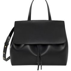 Pre-owned Mansur Gavriel Lady Black Tote Bag ($1,025) ❤ liked on Polyvore featuring bags, handbags, tote bags, black, tote bag purse, pre owned handbags, pre owned purses, preowned handbags and handbags tote bags