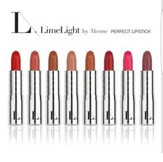 LimeLight by Alcone Lipsticks!! Paraben free, creamy, and long wearing. www.limelightbyalcone.com/Marni