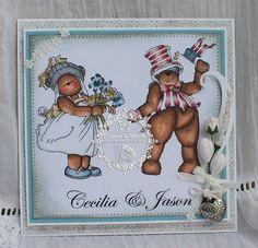 Teddy Bo & Co card