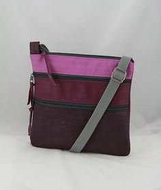 remix / taška Stela fialová