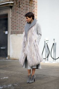 Princess Deena Al Juhani Abdulaziz   - HarpersBAZAAR.com. --Usually not a fur person but would make exception for this COAT. I'm just being honest ;-)