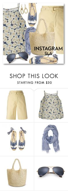 """""""Instagram Style"""" by brendariley-1 ❤ liked on Polyvore featuring Isabel Marant, Great Plains, Soludos, Altea, Ray-Ban, Blue Nile, 60secondstyle and PVShareYourStyle"""