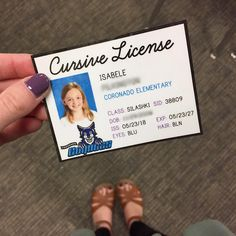 It's official- my third graders are card-carrying cursive licensees! I got this amazing idea from my own third grade teacher, Mrs.…