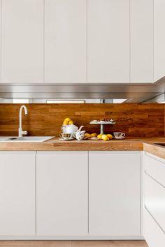 Our photoshoot of apartment design by JT Grupa Architects 2: styl Skandynawski, w kategorii Kuchnia zaprojektowany przez Ayuko…