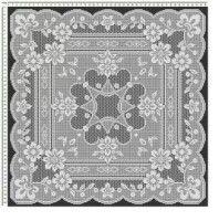 Home Decor Crochet Patterns Part 43 - Beautiful Crochet Patterns and Knitting Patterns Filet Crochet, Crochet Stitches, Crochet Afghans, Knitting Patterns, Crochet Patterns, Knitting Tutorials, Crochet Home Decor, Crochet Tablecloth, Hand Embroidery Designs