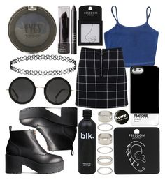 """""""--9--"""" by ines-tomlinson ❤ liked on Polyvore featuring Miss Selfridge, H&M, The Row, Topshop, Forever 21 and NARS Cosmetics"""