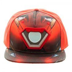 Civil War Iron Man Ballistic Sublimated Snapback Baseball Cap