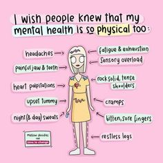 Mental Health Care, Mental And Emotional Health, Mental Health Matters, Mental Health Awareness, Health And Wellness, Anxiety Help, Stress And Anxiety, Health Anxiety, Upset Tummy