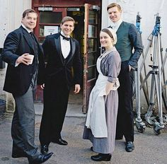 Downton Abbey; Bates, Branson, Alfred and Daisy