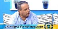 Συνέντευξη του Ν. Λυγερού στη Νέα Τηλεόραση Κρήτης