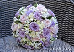 How to Get the Bride Bouquet and Groom Boutonniere Harmony? When looking for bridal bouquet Lilac Flowers, Bridal Flowers, Flower Bouquet Wedding, Flowers In Hair, Pink Roses, Beautiful Flowers, Lilac Wedding, Summer Wedding, July Wedding
