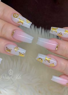 48 Alluring Acrylic Coffin Nails To Make Your Fall Nails Beautiful ! – – Acrylic coffin nails design for Fall and Autumn, Long coffin nails ideas, glitter coffin nails , Coffin nails with rhinestone, Bling Acrylic Nails, Acrylic Nails Coffin Short, Summer Acrylic Nails, Best Acrylic Nails, Gold Nails, Summer Nails, Perfect Nails, Gorgeous Nails, Milky Nails