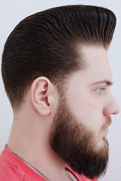 Hair Styling Inspirational Ideas For An Effortless Pompadour ★ Classic Mens Hairstyles, Mens Hairstyles Pompadour, Mens Medium Length Hairstyles, Pompadour Men, Boy Hairstyles, Stylish Haircuts, Haircuts For Men, Barber Shop Haircuts, Undercut Men
