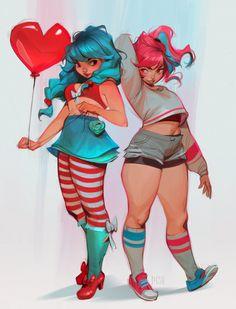 Female Character Design, Character Art, Character Inspiration, Loish, Poses References, Goth Art, Art Poses, Wassily Kandinsky, Cartoon Art