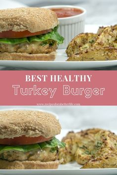 Turkey Burger- This healthy turkey burger will be a favorite in your household. Filled with extra lean ground turkey, onions, and peppers, it makes a very flavorful meal without being spicy. I like this turkey burger better than any restaurant! Low Salt Recipes, Healthy Dinner Recipes, Healthy Dinners, Clean Eating Recipes, Healthy Eating, Healthy Life, Calories In Vegetables, Veggies, Best Turkey Burgers