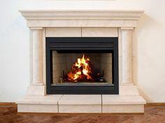 Tuscan Cast Stone Surround | Fireplace Mantels Cast Stone | NY http://www.artisankraftfireplaces.com/marble-fireplaces.html
