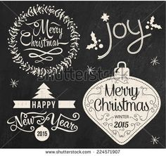 chalk lettering, happy new year - Google Search