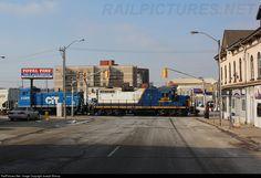RailPictures.Net Photo: RLK 4003 Southern Ontario Railway EMD GP9 at Brantford, Ontario, Canada by Joseph Bishop