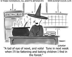 ~ Witchy Humor: By Andertoons