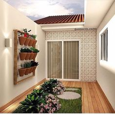 Fiverr freelancer will provide Landscape Design services and design backyard, front yard,terrace landscape drawings including Renderings within 5 days House Designs Exterior, Backyard Decor, House Design, Home Room Design, Small Balcony Decor, Small House Design, Interior Garden, House Plants Decor, Patio Interior