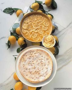 The perfect crunch! Try this #lemon #pinenut tart!