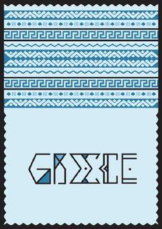 Ethnic type posters