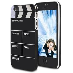Shooting Board Design Hard Case For iPhone 5 - Black