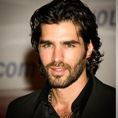 Mens Fashion For Sale Beautiful Men Faces, Gorgeous Men, Hair And Beard Styles, Long Hair Styles, Mexican Men, Latino Men, Long Dark Hair, Awesome Beards, Curly Hair Men