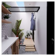 153 laundry design ideas with drying room that you must try 40 House Decoration Kitchen, Tiny House Interior, Outdoor Laundry Rooms, Home Kitchens, Small Laundry Rooms, Home Room Design, Tiny House Laundry, House Interior, Room Design
