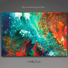 Abstract Giclee Print from my original abstract acrylic