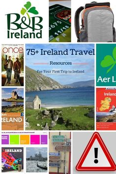A ton of resources for planning a trip to Ireland...because everyone should go sometime in their life. :-) budget travel tips, budget travel usa, #travel, #traveltips