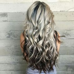 Platinum Blonde With Dark Underneath Hair within size 872 X 1236 Blonde With Black Underneath Hairstyles - No matter whether you aren't whether your Dark Underneath Hair, Balayage Blond, Dark Blonde, Blonde Hair With Black Highlights, Blonde Highlights Underneath, Chunky Highlights, Caramel Highlights, Hair Color Highlights, Cool Hair Color