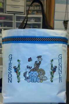 Bazooples bag:Characters Created by popular designer Vicki Schreiner